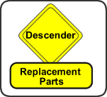 Descender Replacement Parts