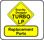 GravityDropper Turbo LP Replacement Parts