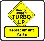 GravityDropper Turbo LP Replacement Parts