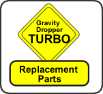 GravityDropper Turbo Replacement Parts